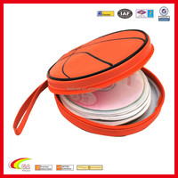 Round Neoprene Cd Case for 336 discs