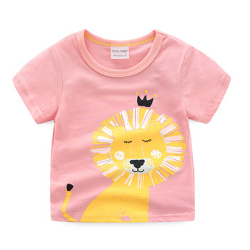 3d3e50b77 wholesale cute graphic printing children toddler baby boy 100% cotton  interlock knit short t-