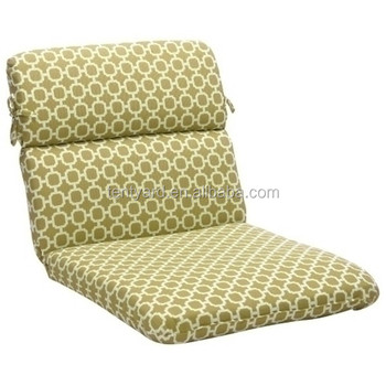 Outdoor Patio Round Wicker Chair Cushion Recliner
