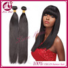 Unprocessed Virgin Brazilian Hair Extensions Straight Hair 16inch 100g 10-30inch Tangle Free Shedding Free