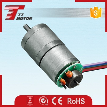 Toy robots high rpm gearbox small encoder motors 12v for Small motors for robots