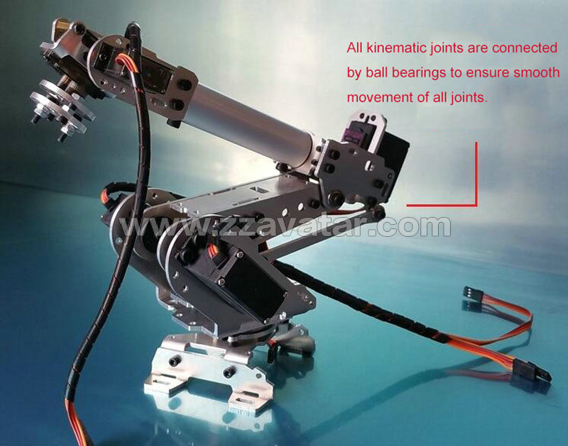 Robot Arm 6 Axis Arduino Kit With Detailed Assembly And Programming  Tutorials Coding Robot Arm - Buy Robot Arm 6 Axis,6 Axis Robot Arm,Robot  Arm
