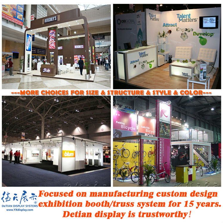 Exhibition Stand Design Specifications : Truss trade show booth pop up with banner booth stand exhibition
