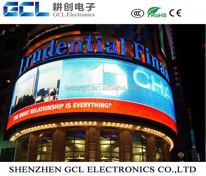 p10 led commercial advertising display screen video wall 16x16 outdoor rgb dip p10 led display module