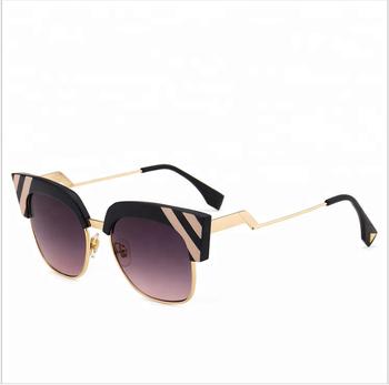 Cute Sexy Retro Cat Eye Sunglasses Women Small Vintage Triangle Sun Glasses    Big frame trend efa2d59ab