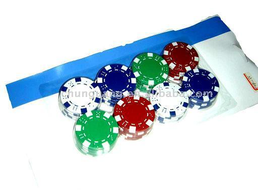 Coin Inlay Paulson Clay Poker Chips