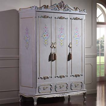 королевская роскошная мебель для спальни ручная резьба из массива