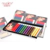 Wholesale package customize Korea silk Rainbow Colored Eyelashes Extensions