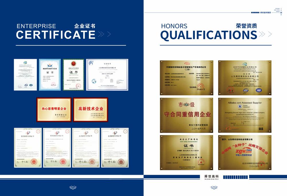 Erw Tebal Dinding Diameter Besar Persegi atau Persegi Panjang Pipa Baja Jaminan Kualitas untuk Produsen Cina
