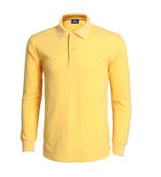 100%cotton high quality long sleeve polo shirt customized printing logo advertising polo shirt wholesale cheap blank polo shirt