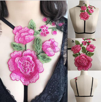 5e44aede5798e7 L1721A Sexy satin floral embroidery bra bralette Black hollow out unpadded  brassiere Summer party crop top