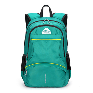 China cheap branded school back packs Nylon day hiking backpack bag waterproof daypack top travel backpacks
