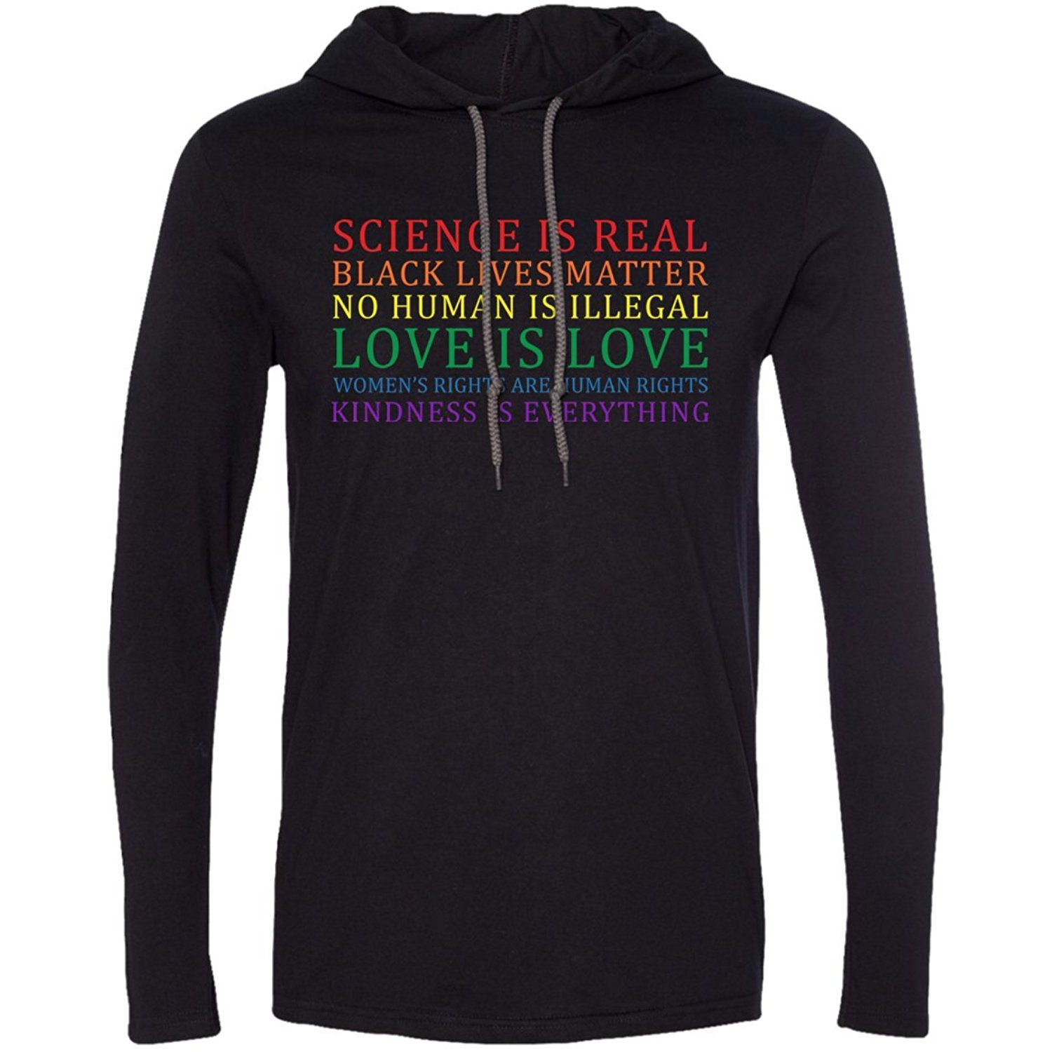 Science is real Black lives matter tshirt hoodie