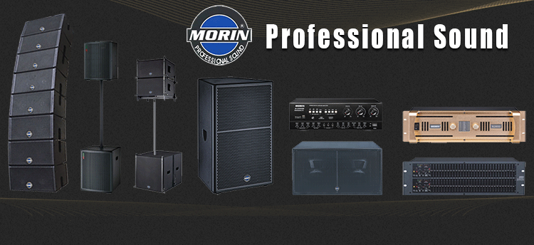 Profesional Class-H DJ Speaker Pa Amplifier With Stereo,Parallel,Bridge Mono Morin M-2450