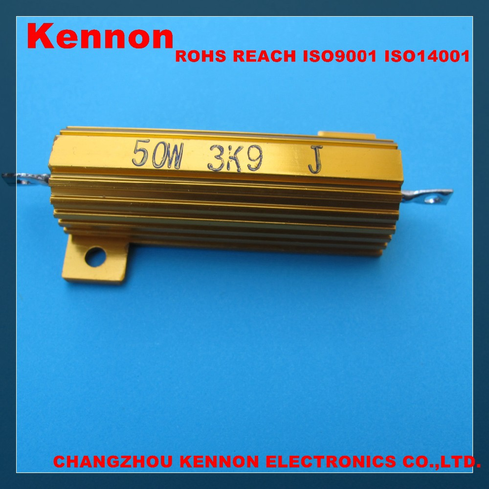 RX24 25W 50W 100W wire wound resistor Aluminium housed case Wirewound precision Resistors