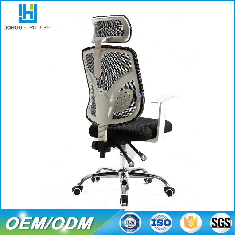 Wholesale fabric seat height adjustment Ergonomic Mesh office chair