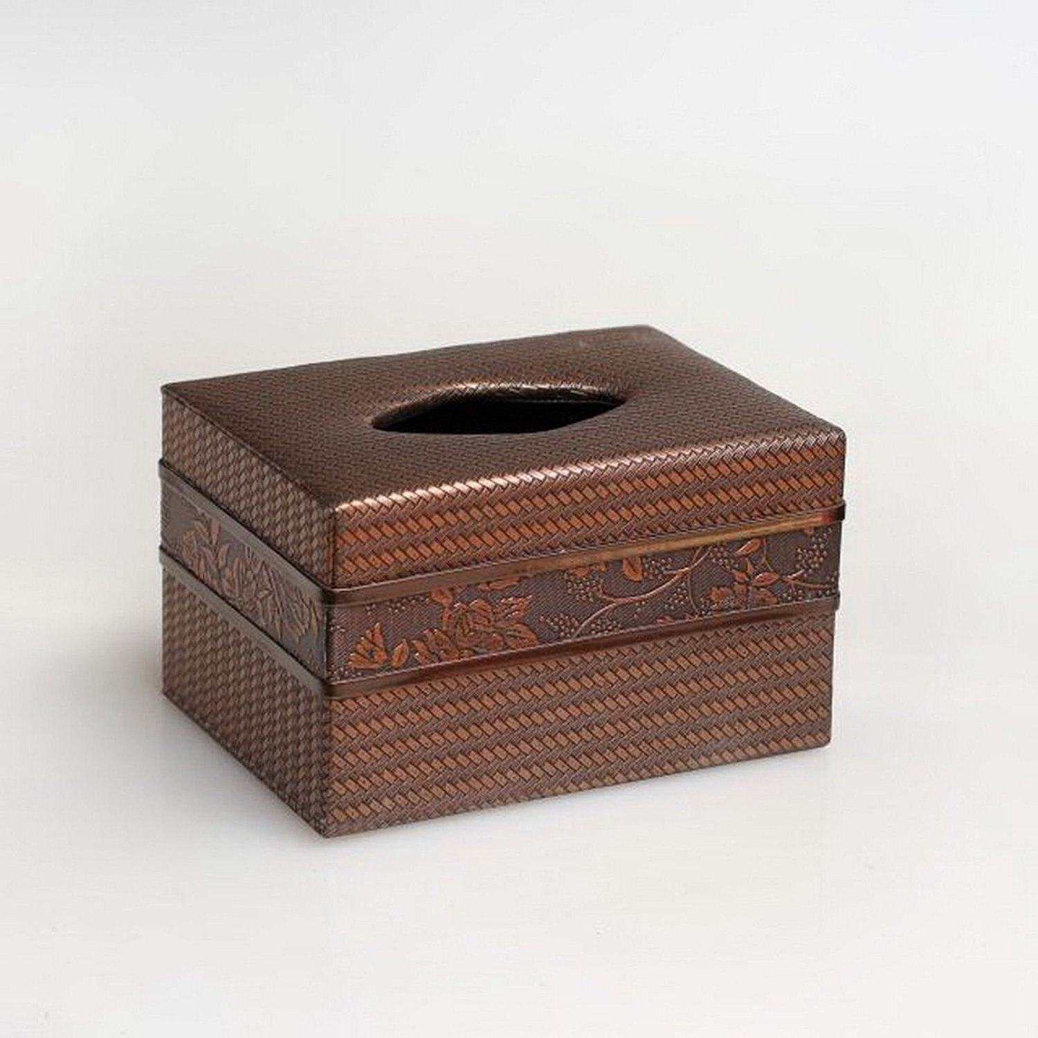 Get Quotations Tissue Holders Vintage Rattan Plaited Color Coffee European