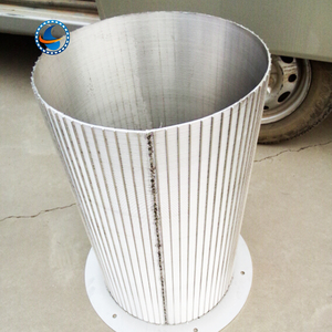 high quality reversed rolled slotted wedge wire screen
