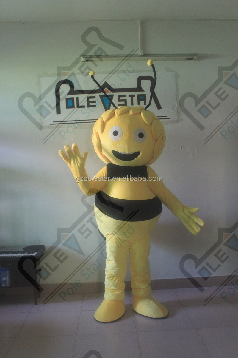shine bee mascot costumes cartoon maya bee costumes