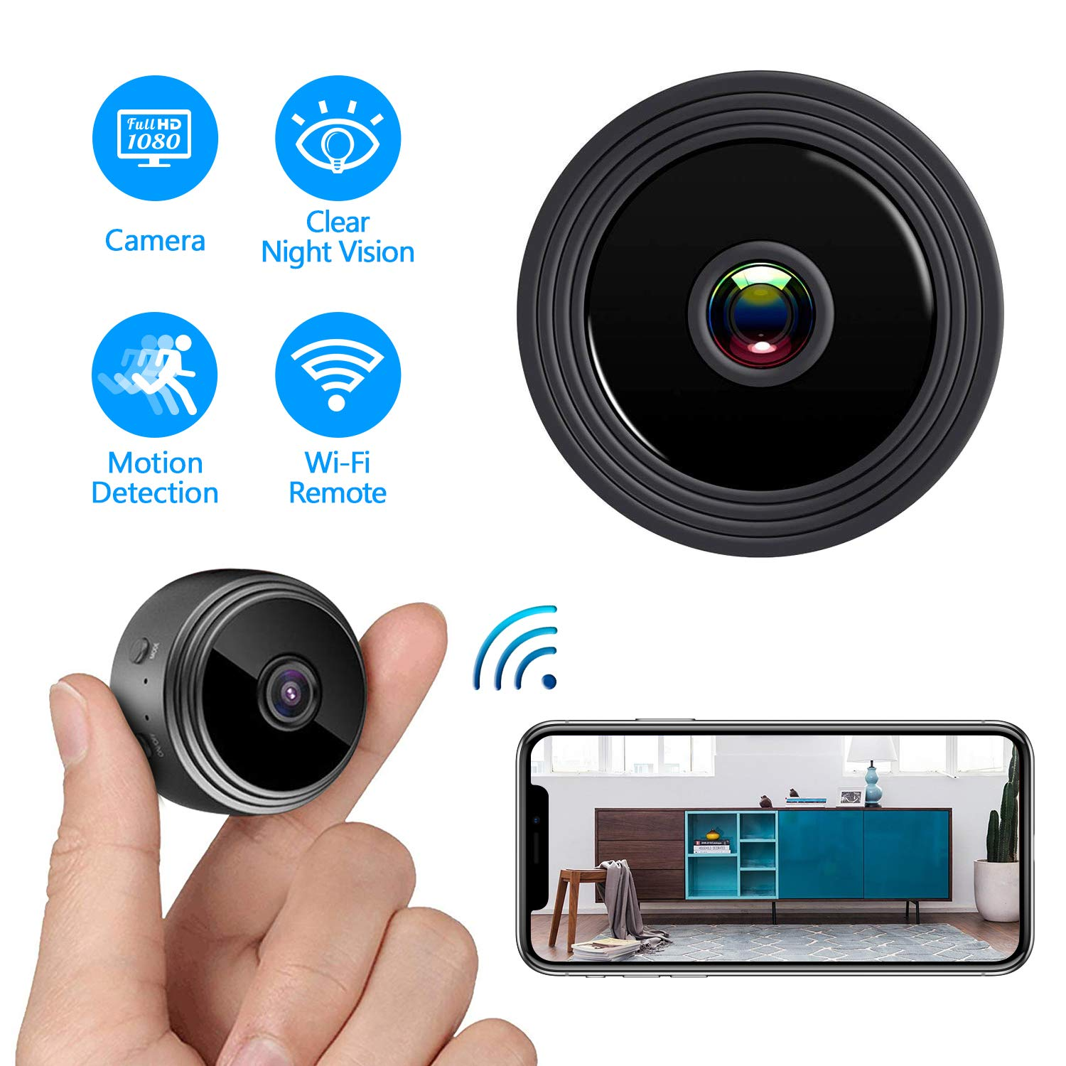 2019 super zoom ip mini spy hidden camera full hd mini camera hidden 1080p mini camera spy wifi remote