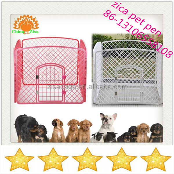 white dog pet pens /crate /kennel