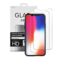 대 한 iPhone XR/XS/XS Max 강화 (gorilla glass) 셀 폰 screen protector anti shock