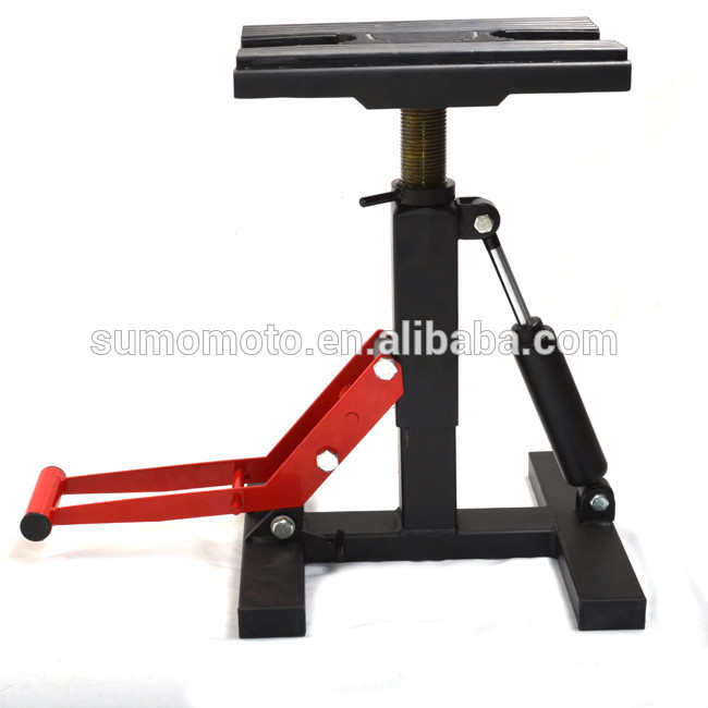 Lift Stand Mx Motocross Dirt Bike Adjustable Height With Shock