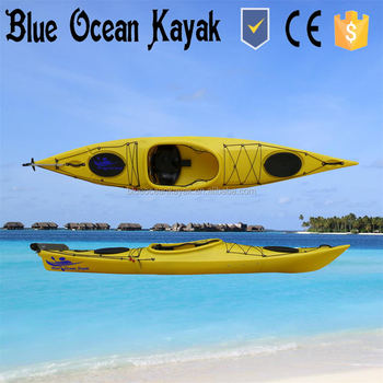 Plastic Cheap Sea Kayak From Blue Ocean