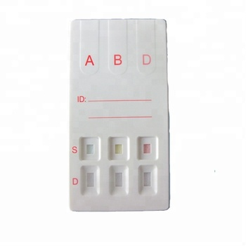 One Step ABD Blood Grouping Rapid Test Kit