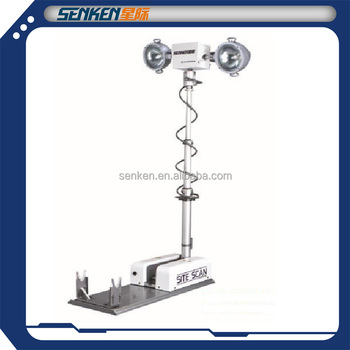 Truck And Rescue Car Top Mounted Night Scan Tower Light And