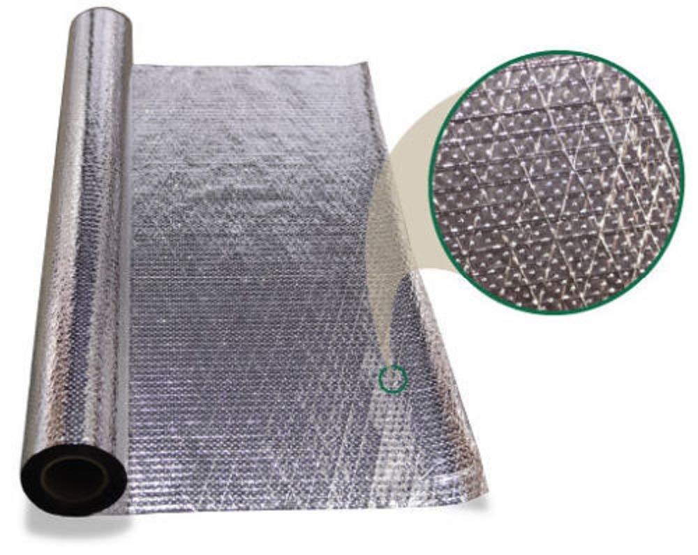 300 sqft 4x75 Aluminum Foil Barrier Insulation Sauna Vapor Barrier Waterproof