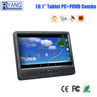 2017 New 10.1 inch car tablet pc portable headrest dvd player with touch screen