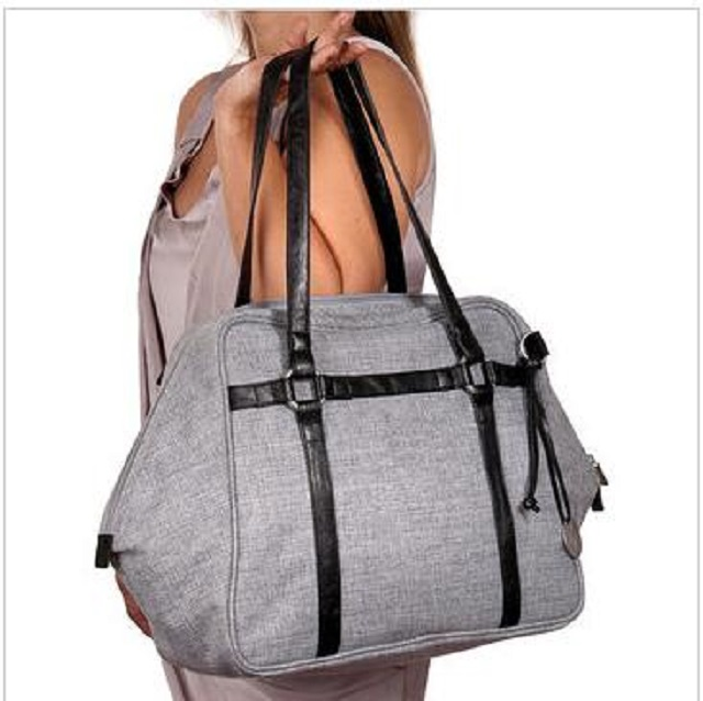 Baby care bag diaper shoulder bag with diaper changing pad