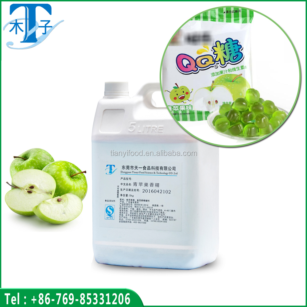Green apple flavor, high quality green apple sugar flavor, and green apple essence