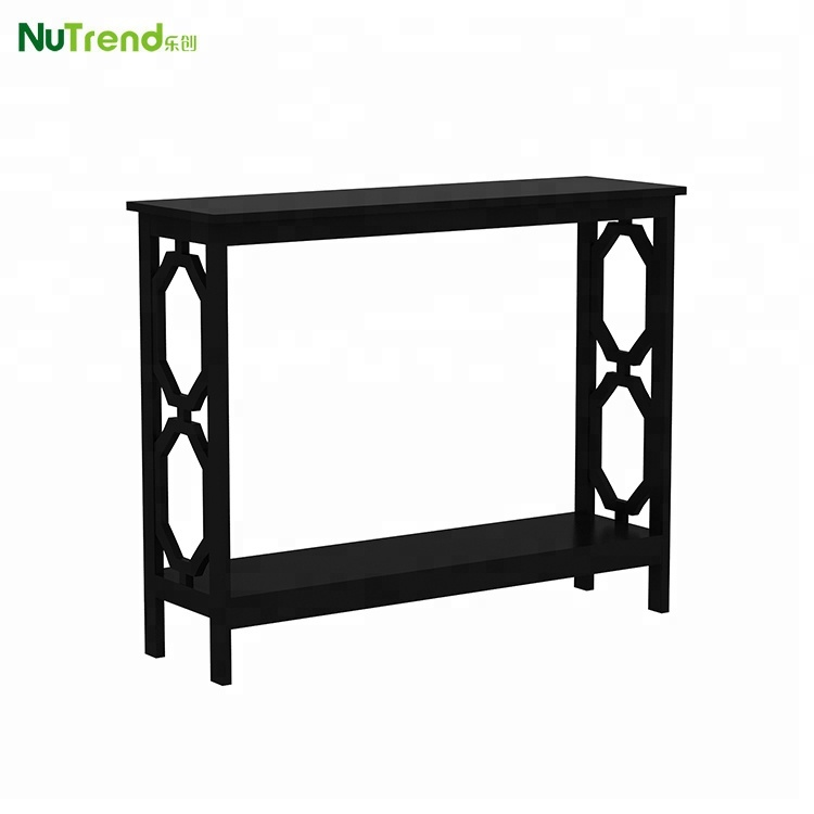 Black Antique Fashion Console Table For Hallway Kd Furniture Product On