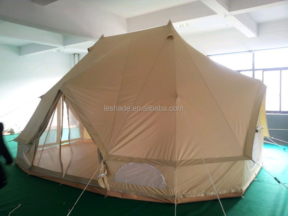 cotton canvas big hotel bell tent emperor twin bell tent & Cotton Canvas Big Hotel Bell Tent Emperor Twin Bell Tent - Buy ...