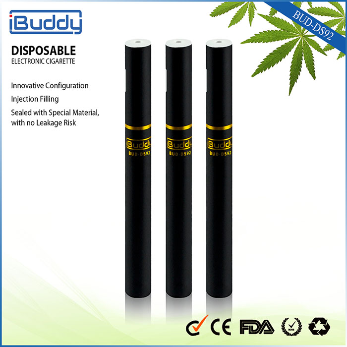 2015 New Product!! Rebuildable Vaporizer Pen Ibuddy DS92 Pen Style Electronic Smoking Free Samples Empty Cartridge