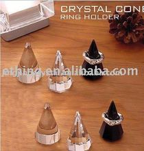 crystal ring holder with original appearance in recent