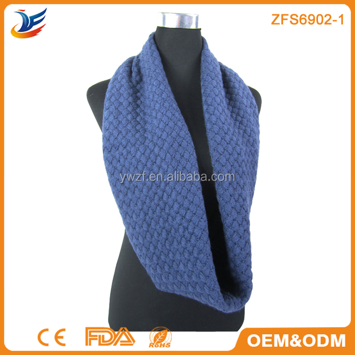 winter loop shawls infinity acrylic scarves