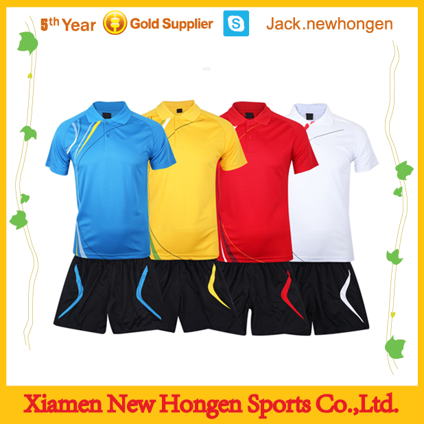 Customize high quality sublimation badminton uniforms/jerseys/wears