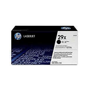 Hewlett Packard HP C4129X ( HP 29X ) Black Ultraprecise Laser Toner Cartridge, Works for LaserJet 5100, LaserJet 5100dtn