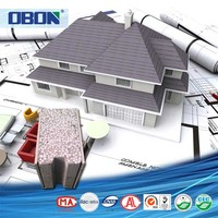 OBON panels for home construction lightweight concrete panels high density extruded polystyrene thermal insulation board