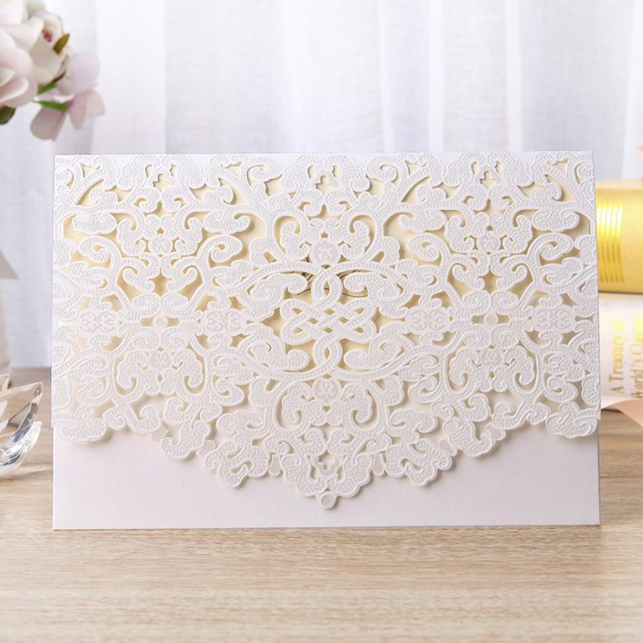 Meilun 2019 new arrival hot sale white <strong>wedding</strong> <strong>invitation</strong> cards