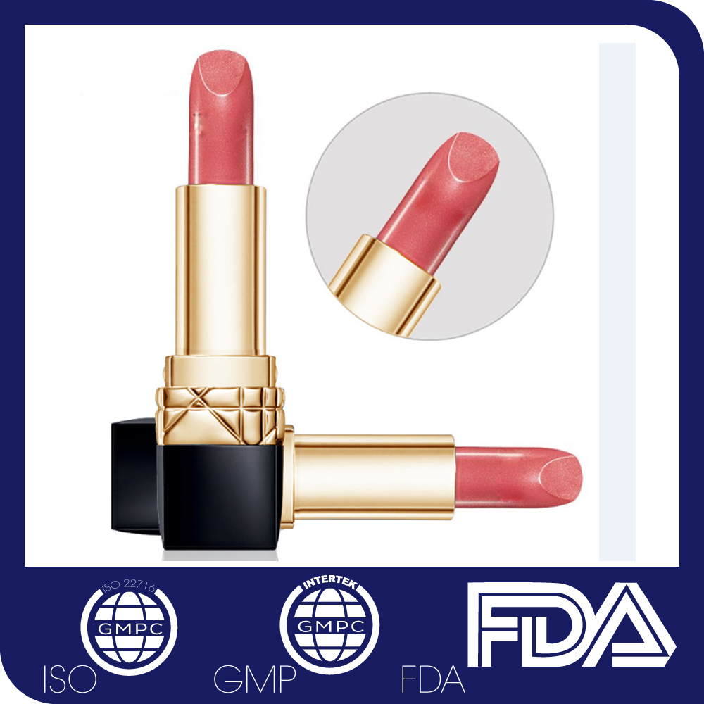 Competitive Price and Good Quality Herbal Matte Lipstick with Custom Lipstick Tube Packing Design