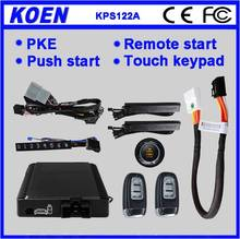 Special Canbus Giordon Car Alarm System With Touch Keypad, KPE, Remote functions For Honda 2009-2014