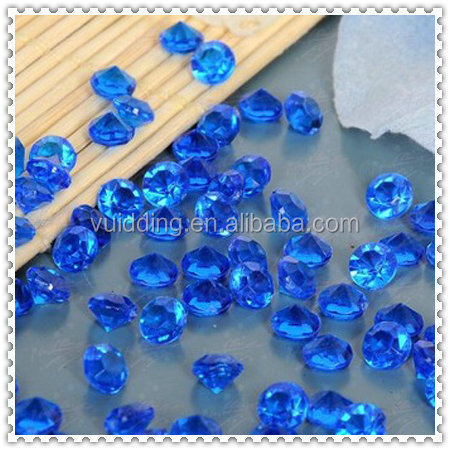 Wedding Blue Glass Table Scatter For Bridal Shower Decoration