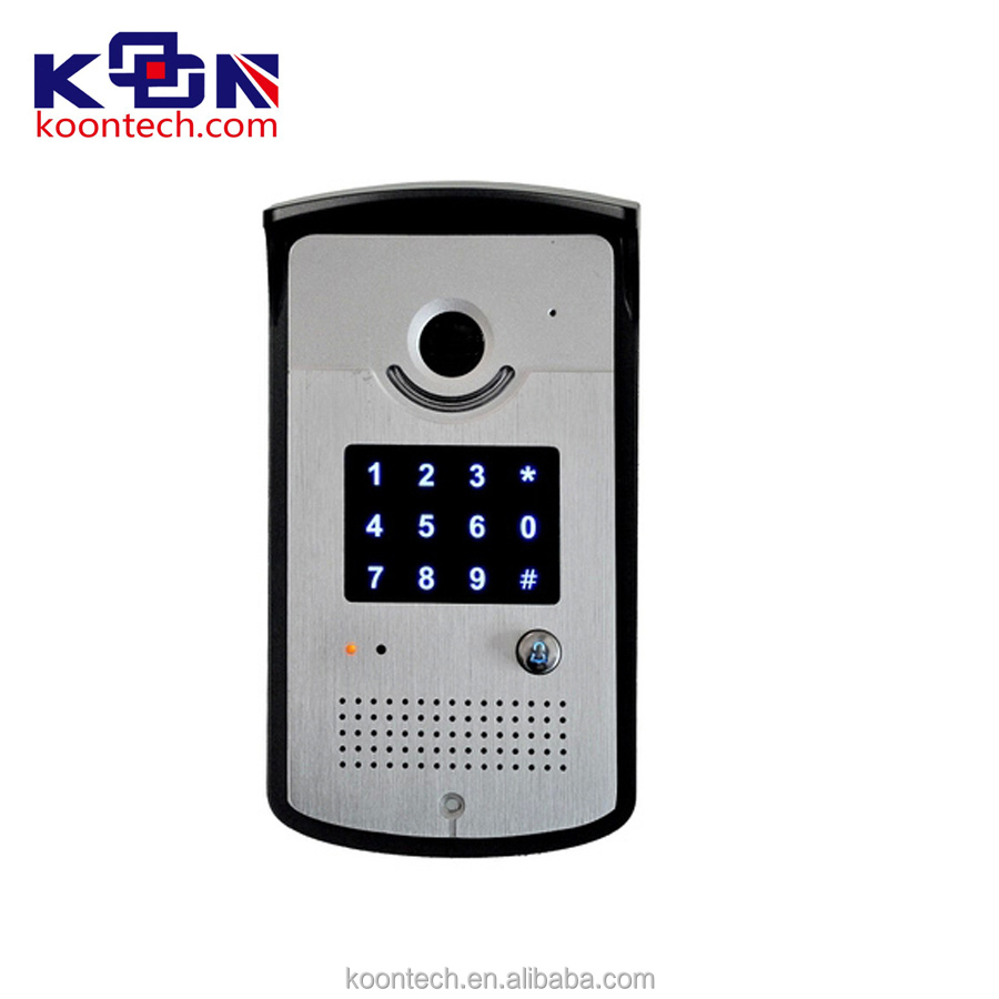 Video intercom door/telephone entry system voip