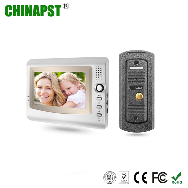 Lower price handsfree pinhole camera color house wired Video Door Intercom PST-VD973C