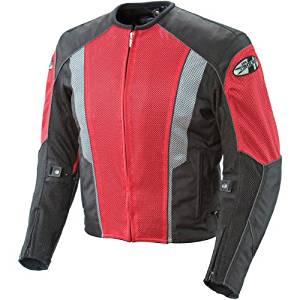 Joe Rocket Phoenix 5.0 Mens Red Mesh Motorcycle Jacket - X-Large