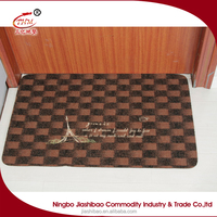 2016 new fashional printed logo outdoor mats and rugs